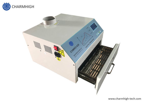 CHMRO-420 Desktop 2500w IC heater, lead free, Hot air + 300*300mm Infrared Reflow Oven