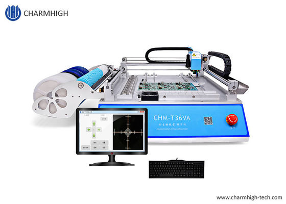 CHM-T36VA Dual Vision Cameras , PC Control SMT Pick And Place Machine Chmt36va